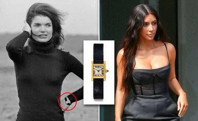 Kim Kardashian Buys Jackie Kennedy's Famous CARTIER Watch!