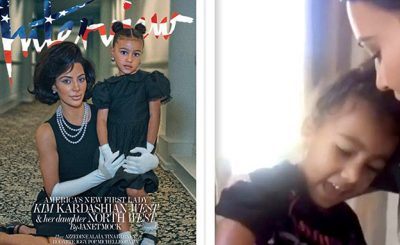 Kim Kardashian Makes Daughter North WEST Sing 'You Are So Beautiful!'