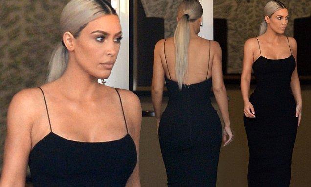Little Black Dresses For Weddings 62 Great Kim Kardashian Wears a