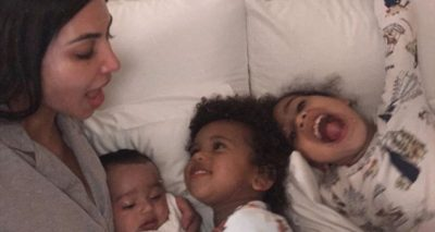 Kim Kardashian Shares Photo of ALL THREE Kids!