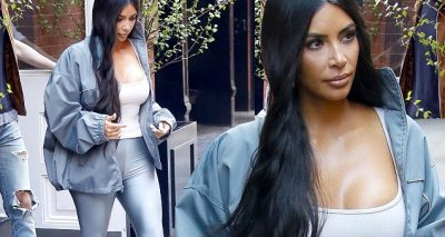 Kim Kardashian Silver Look After MET GALA!