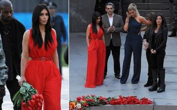 Armenian Community Thanks Kim Kardashian With Full Page Ad in the New York Times!