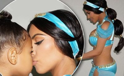 UNBELIEVABLE Skies: Kim Kardashian Dresses Up as Princess Jasmine!
