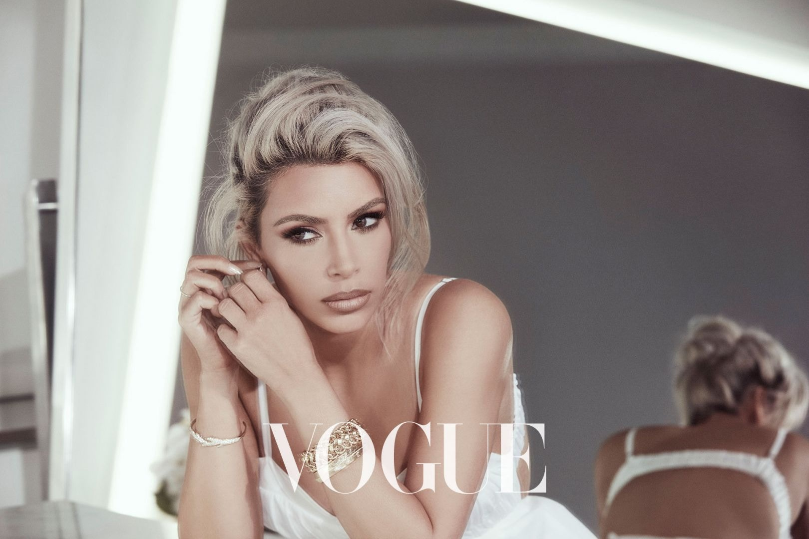 KIM KARDASHIAN Covers Vogue Taiwan, Says She's OBSESSED With Fragrances image