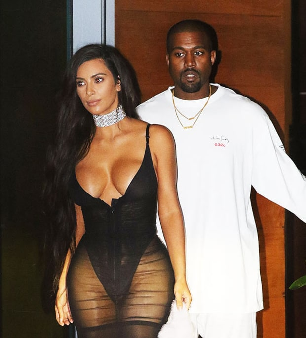 Getting Out of HAND!: Kim Kardashian West Flashes Body Again as Kanye BEGS Her to Cover Up! image