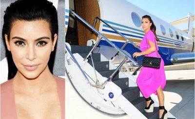 Kim Kardashian Hasn't Paid Her Private JET Bill!