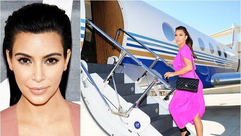 Kim Kardashian Hasn't Paid Her Private JET Bill!