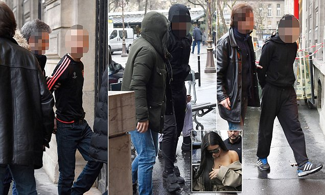 Photos Of Kim Kardashian's French Robbers Revealed!