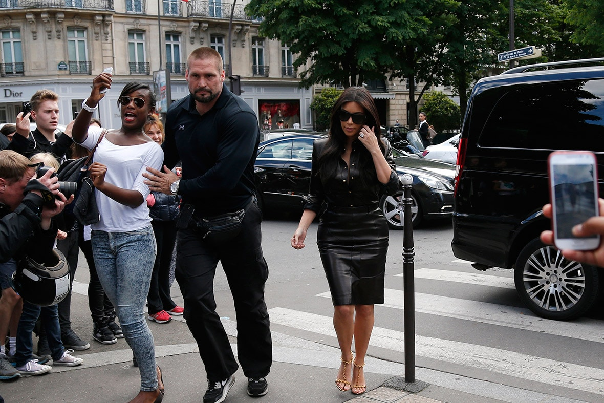 Kim Kardashian Gets 'Secret-Service' Level Security After Paris Attack! image