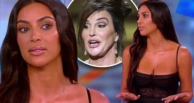 Kim Kardashian Appears on 'The View', Says Caitlyn Jenner and Kardashians Will WORK IT OUT!