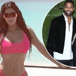 KHLOE KARDASHIAN and Tristan Thompson Seen Together For the First Time Since Tristan's Cheating image