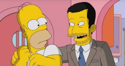 Jimmy Kimmel Tours Springfield on THE SIMPSPONS