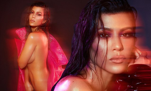 Kourtney KARDASHIAN Goes NUDE During 39th Birthday! image