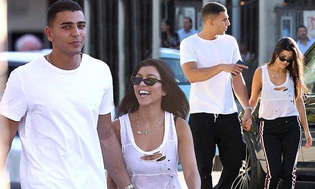 Kourtney Kardashian Holds Hands With New Boyfriend Younes Bendjima!