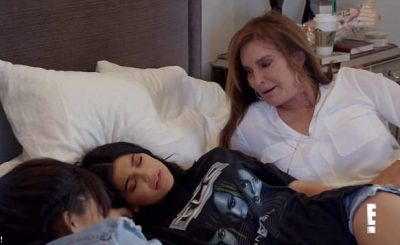 Caitlyn Jenner Brings Kylie Jenner a CHICKEN in Bed!