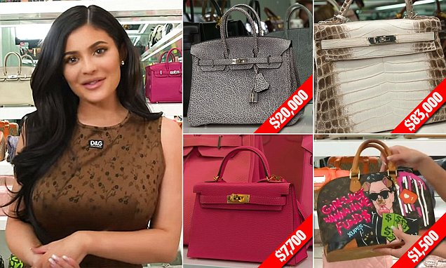 Kylie Jenner Says She'll Give Her Daughter a Hermes Purse image