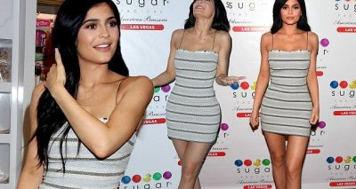 Kylie Jenner is FULL OF SUGAR @ Sugar Factory Vegas Opening!