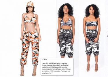Kylie Jenner Accused of STEALING Camouflage Fashion Designs!