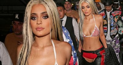 Kylie Jenner is a DIRRTY Christina Aguilera For Halloween!