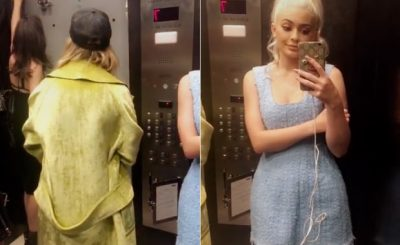 TRAPPED: Kylie and Kendall Jenner Document Elevator Escape on Snapchat