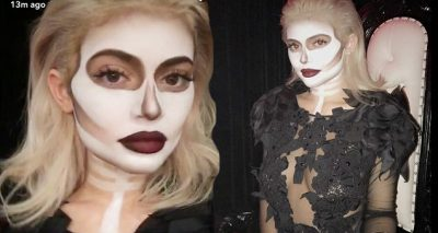 DEAD DINNER: Kylie Jenner Throws EPIC Halloween Party With Boyfriend Tyga and Sister Kendall