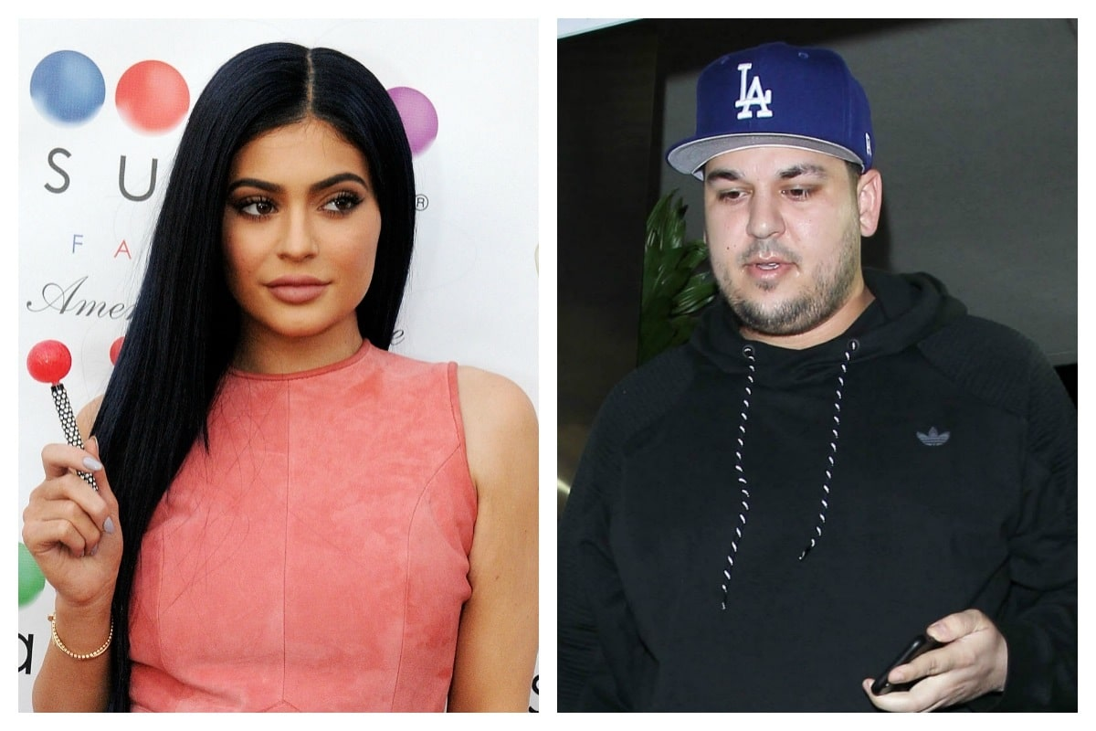 IT'S WAR! Rob Kardashian Tweets Out Kylie Jenner's Phone Number After She Doesn't Invite Blac Chyna to Baby Shower! image