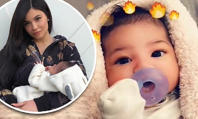 Kylie Jenner Shares a VIDEO Of Baby Stormi image