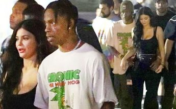 Kylie Jenner and Travis Scott Visit SIX FLAGS!