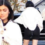 Kylie Jenner Flaunts Super-Flat Stomach After Giving Birth image