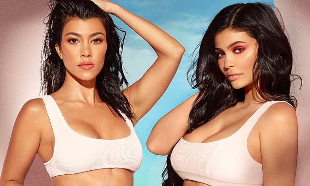 Kylie Jenner Announces Makeup Collaboration With Kourtney Kardashian! image