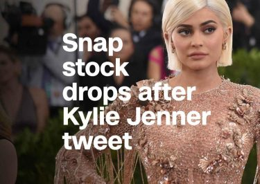 Kylie Jenner Makes SNAPCHAT's Stock Drop $1.3 BILLION!