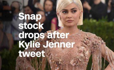 Kylie Jenner Makes SNAPCHAT's Stock Drop $1.3 BILLION!
