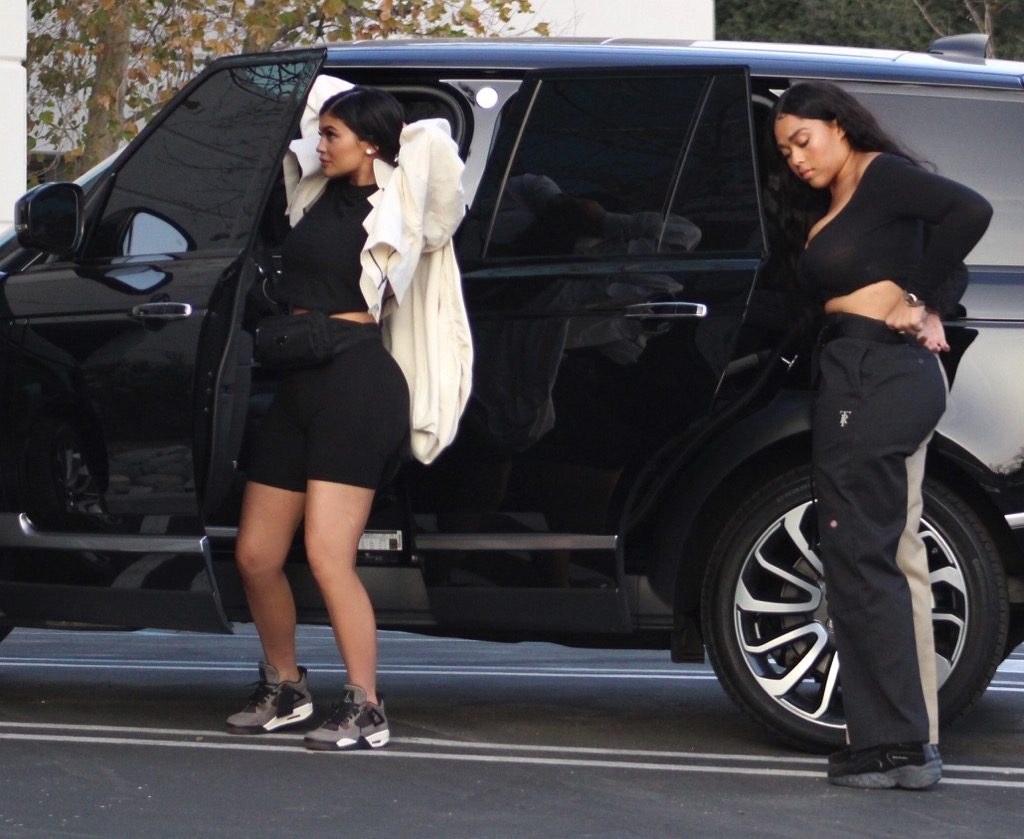 First Photos of Post-STORMI Kylie Jenner! image