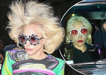 Lady Gaga Wears Metallic Spectacles On Date With Soon-to-Be Husband