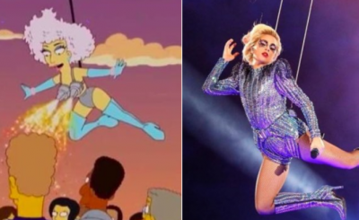 The Simpsons Predicted Lady Gaga's Super Bowl HalfTime Performance FIVE YEARS AGO