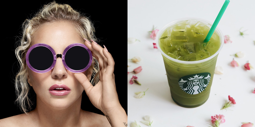 Lady Gaga Launches Drinks @ STARBUCKS For Charity!