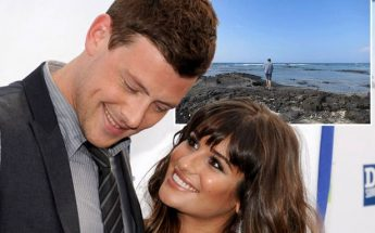 Lea Michele Shares Gleeful Photo Of Her & Dead Boyfriend Cory Monteith