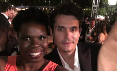 Leslie Jones Meets Celebs at Emmys 2016 & Takes as Many Selfies As Possible