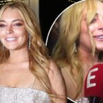 "Dina and Michael Talk About Lindsay Lohan's New Accent: ""Lindsay Has a Very High IQ and Is VERY Intelligent"" image"