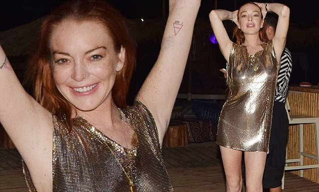 Lindsay Lohan Discussing New MTV Reality Show image
