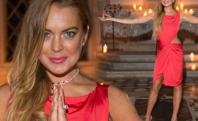 Lindsay Lohan Desperate For a Meeting With DONALD TRUMP!
