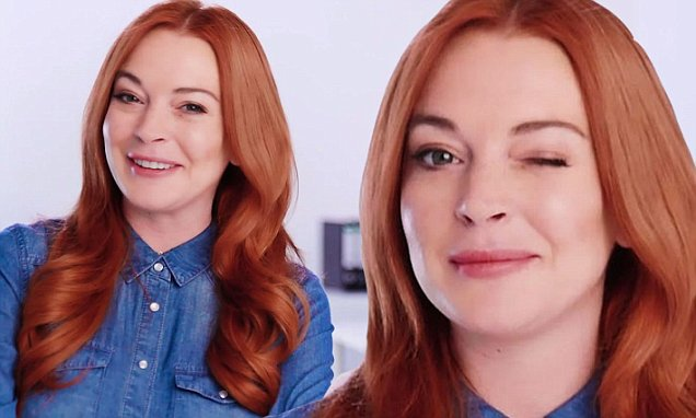 Lindsay Lohan New Spokesperson for LAWYER.COM image