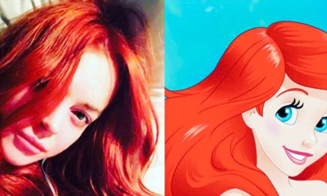 Lindsay Lohan is Dying to Play Ariel in'The Little Mermaid' Reboot by Disney