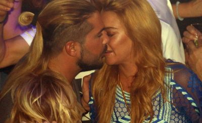 Business AND Pleasure: Lindsay Lohan Full Make-Out With Business Partner Dennis Papageorgiou in Greece!