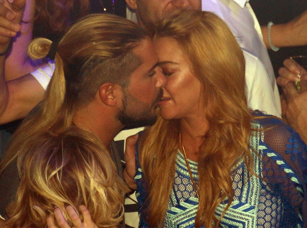 Business AND Pleasure: Lindsay Lohan Full Make-Out With Business Partner Dennis Papageorgiou in Greece! image
