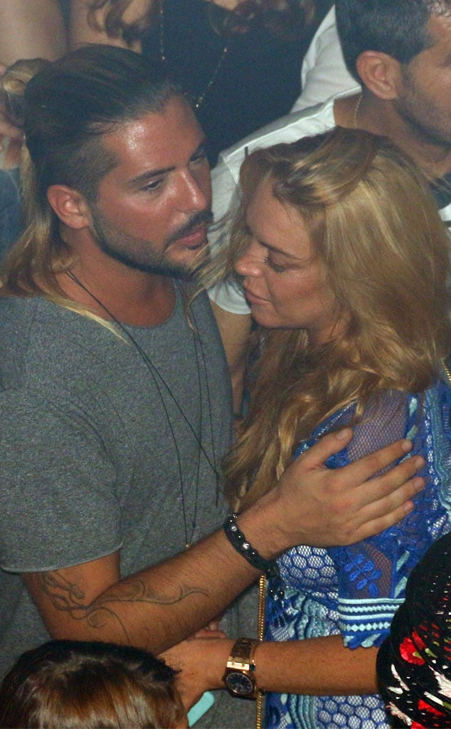Business AND Pleasure: Lindsay Lohan Full Make-Out With Business Partner Dennis Papageorgiou