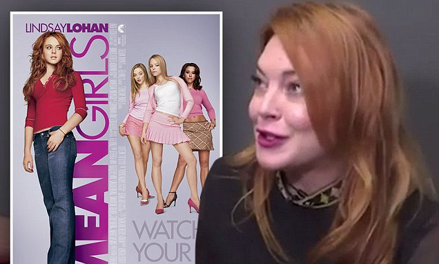 Lindsay Lohan Wants to do a MEAN GIRLS Sequel So Bad She's Written Her Own SCRIPT! image