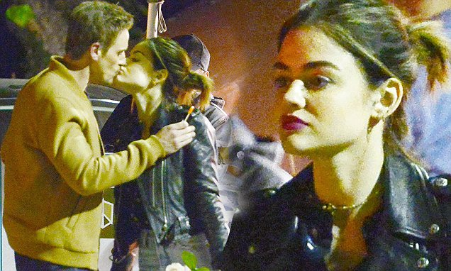 Lucy Hale Dating 10-Year-Older'Life Sentence' Star Riley Smith