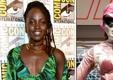 Lupita Nyong'o Was a Pink Power RANGER at Comic-Con