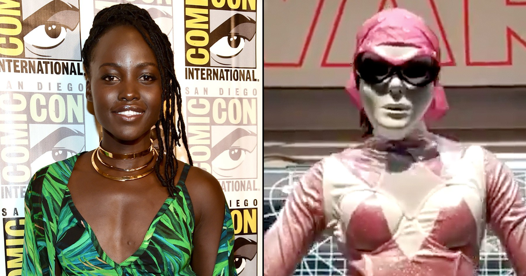 Lupita Nyong'o Was a Pink Power RANGER at Comic-Con image